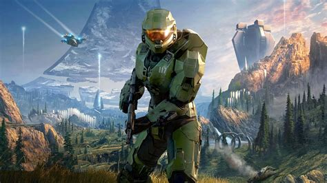 halo infinite  video game  hd poster preview