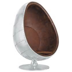 Fauteuil Coque Oeuf by Fauteuil Oeuf Egg Chair Aviator Vintage Achat Vente