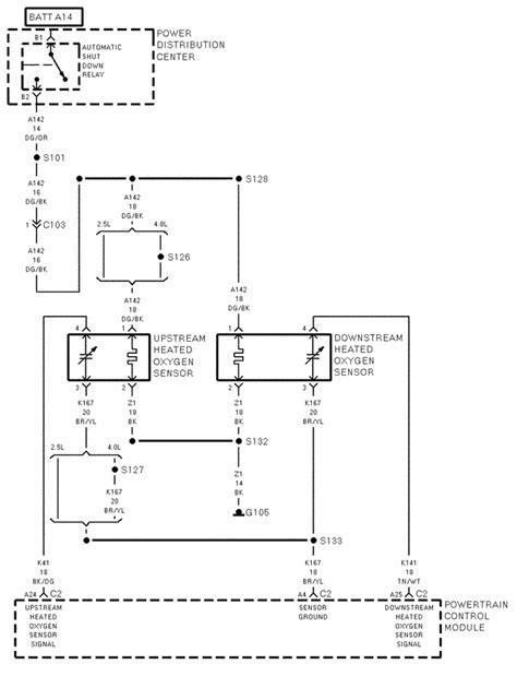 wiring diagram    jeep wrangler
