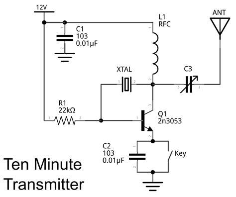 Makerf Ten Minute Transmitter