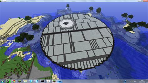 death star  art minecraft project