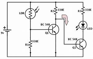 electronics guru With ldr sensor circuit