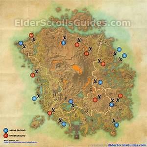 Vvardenfell (Morrowind) Skyshards Map Elder Scrolls