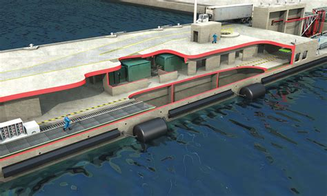 floating double deck pier bergerabam