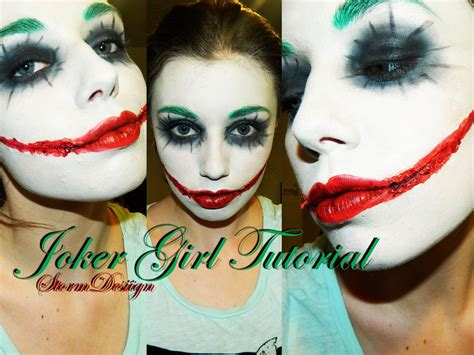 Joker Girl Makeup Tutorial