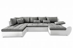 Sofa Xxl Mit Schlaffunktion : wohnlandschaft bandos xxl mit schlaffunktion grau sofa couch ecksofa ebay ~ Indierocktalk.com Haus und Dekorationen