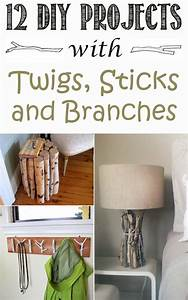12, Best, Diy, Projects, With, Twigs, Sticks, And, Branches
