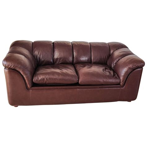 frau furniture leather sofa by poltrona frau at 1stdibs