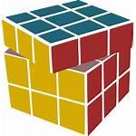 Cube Rubik Rubiks Clipart Transparent Scrambled Rubix