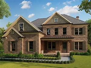 Traditional, Style, House, Plan, 40102, With, 5, Bed, 6, Bath, 2