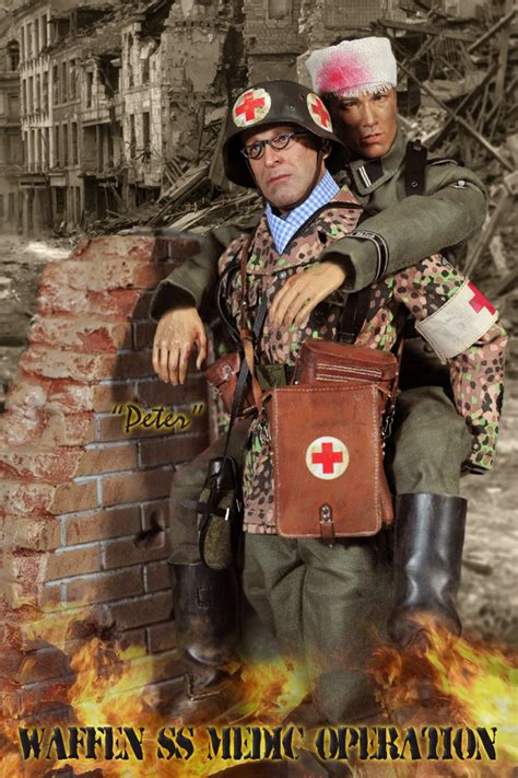 waffen ss medic operation peter  stock