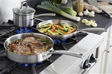 cookware stainless steel sets
