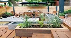 10 idees deco terrasse a l39amenagement canon With amenager une terrasse exterieure 13 brise vue balcon decoration exterieure de votre terrasse