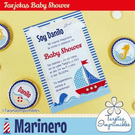 Imagenes De Barcos Para Baby Shower by Tarjetas De Baby Shower De Marinero Imagui