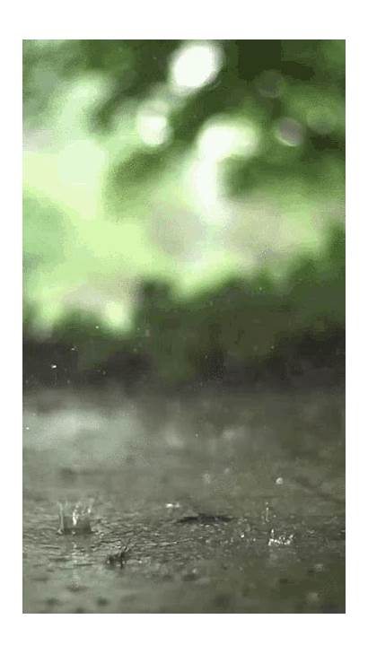 Rain Raining Gifs Drizzle Sd Mp4 Water