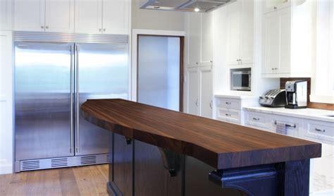 comptoir de cuisine en bois fabriquer un comptoir de cuisine en bois comptoirs