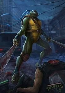 teenage mutant ninja turtles Leonardo by DanteCyberMan on ...