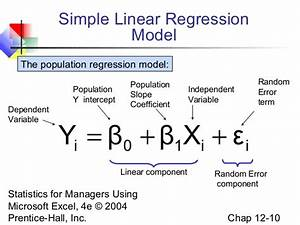 How Linear Regression can also be used to do ...