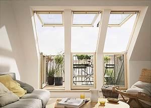 Dachfenster 3 Fach Verglasung : so funktioniert das dachfenster mit balkon ~ Michelbontemps.com Haus und Dekorationen