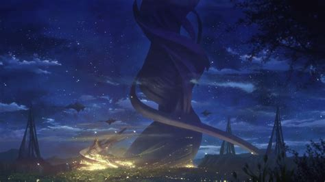 Sword Art Online Scenery Image The World Tree At Night Png Sword Art Online Wiki Fandom Powered By Wikia