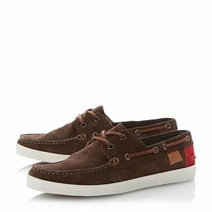Lacoste Keellson Suede Lace Up Boat Shoes in Brown for Men ...