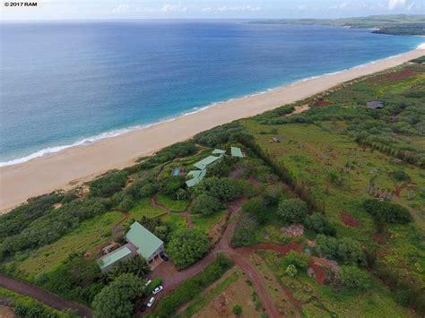 Hawaii Waterfront Property In Molokai Kualappu