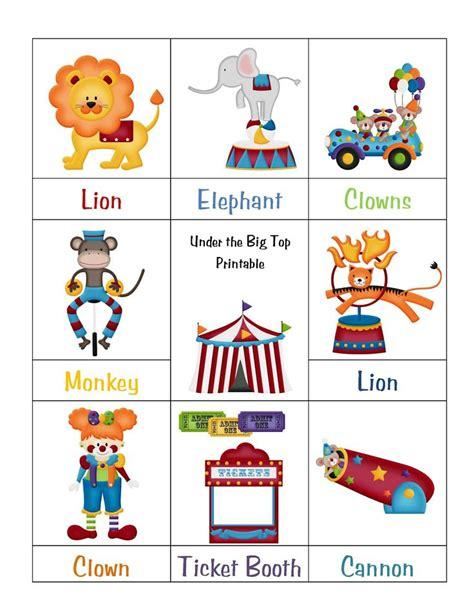 clown activities for preschoolers 8 best images of circus printables for preschool 966