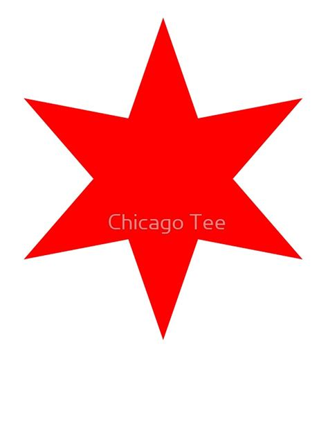 quot chicago flag single star quot stickers by chicago tee redbubble