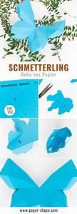 Schmetterlinge Aus Tonpapier Basteln : 3d schmetterling basteln als wanddeko mit kostenloser vorlage papershape ~ Orissabook.com Haus und Dekorationen