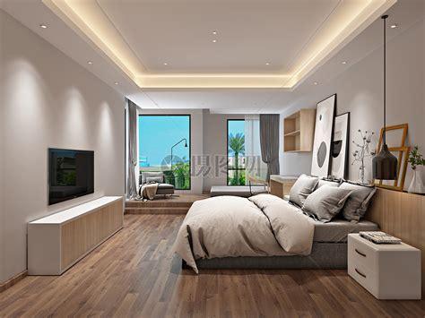 Interior Designs Pictures by 北欧风格简约卧室室内设计效果图高清图片下载 正版图片500591915 摄图网
