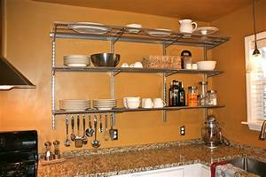 kitchen shelves wall mounted kitchen ideas With wall mounted shelf the types and simple ideas