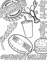 Coloring Books Grill Willie Ice Willies sketch template