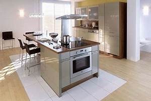 une cuisine avec ilot central cote maison With awesome meuble de cuisine ilot central 6 cuisine americaine avec ilot deco maison moderne