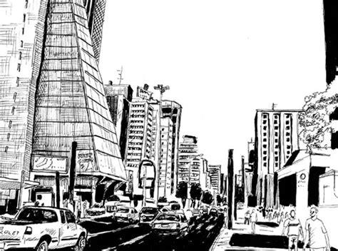desenhos de cidades em preto  branco brasil blogado