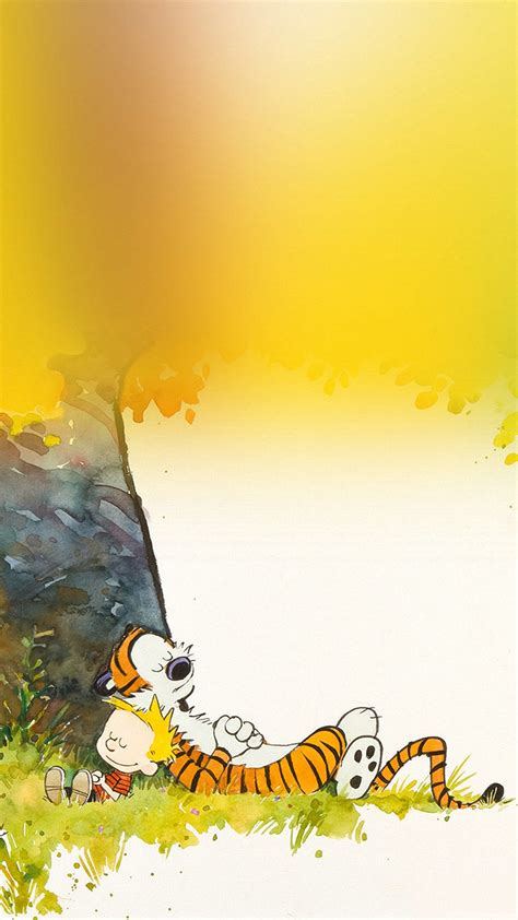 Calvin And Hobbes Spring Wallpaper Calvin And Hobbes Iphone Wallpaper For Desktop Pixelstalk Net