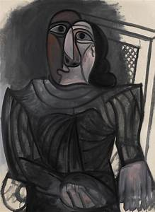 paintings from personal collection of marina picasso at With robe noire grise