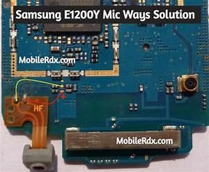 Samsung E1200y Mic Ways Mic Problem Jumper Solution