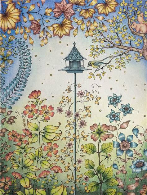 secret garden coloring book secret garden artist s ed coloured by morena vajak