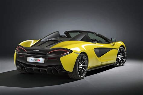 The Mclaren 570s Spider Is Perfect For This Summer