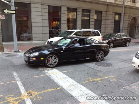 maserati toronto maserati gransport spotted in toronto ontario canada on