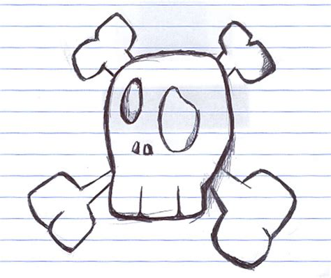 someeasythingstodraw fun skull draw  coxao