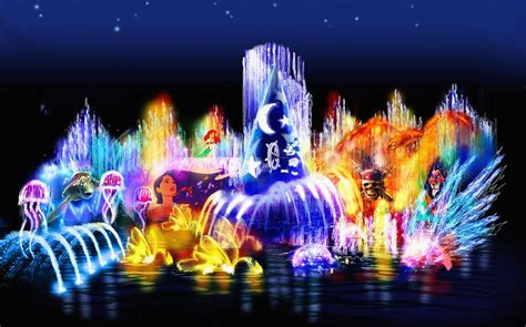 disneyland colors makers of quot world of color quot at disneyland