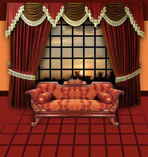 Curtain Ideas For Living Room India by Curtains