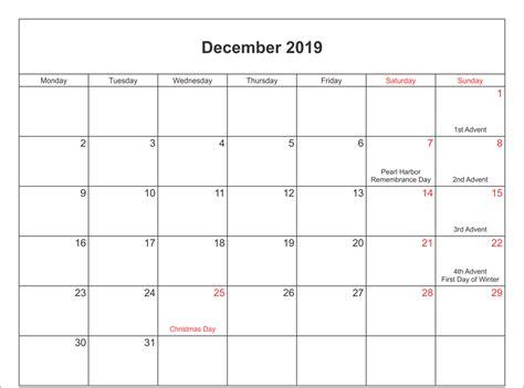 december  calendar editable blank images