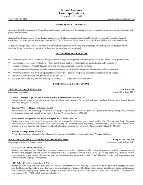 Resume Overview by Gala Resume Summary