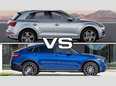 Audi Q5 vs Mercedes GLC Coupe YouTube