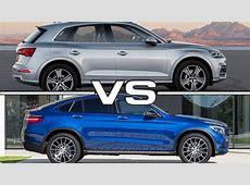 Audi Q5 vs Mercedes GLC Coupe YouTube