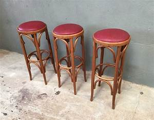 Tabouret Bar Vintage : ensemble de 3 tabourets de bar ~ Preciouscoupons.com Idées de Décoration