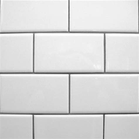 4x8 White Subway Tile by Trends In Tile