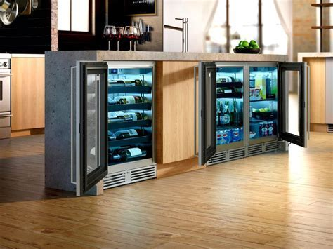 Perlick for a Kitchen with a Shallow Fridge and Downtown